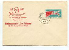 1962 Pionierorganisation Ernst Thalmann Plauen Gagarin Kosmos Land SPACE NASA