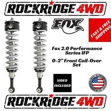 "Fox 2.0 Performance Series IFP 0-2"" Front Coil-Overs for 04-08 Ford F-150 *4WD*"