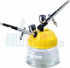 Airbrush Cleaning Station And Holder For 2 Airbrush