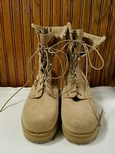Clean Altama Military Sand Steel Toe? Army Desert Boots 6 1/2 RW 5800 6090073