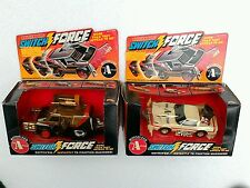 Vintage 1980s A-Team rough Rider Switchforce action vehicles - mib ljn