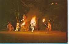 BOONE,NC-INDIAN FLAME DANCE-HORN IN THE WEST-(INDIAN-26)