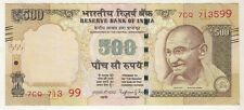 ★ INDIA Rs. 500 ERROR NOTE ★★ ONE NUMBER MISSING  ★★ RAGHURAM JI RAJAN