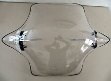 Zzipper Road Fairing, Clear, Mountain Bicycle,Bike Windshield, C/W Clamps. Nice!