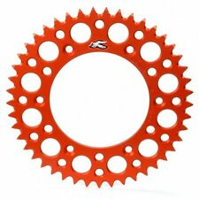 RENTHAL CORONA ALLUMINIO ULTRALIGHT ORANGE KTM 65 1998-2017 46 48 50 DENTI