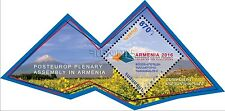 Armenia MNH** NEW 2016 PostEurop Plenary Assembly in Yerevan Mount ArArAt S/S