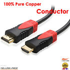 1M 3ft High Speed 1.4a HDMI Ultra Cable 1080P HD w/ Ethernet 3D HDTV 1.4V AU