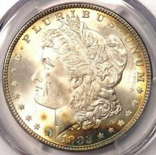 1882 Morgan Silver Dollar $1 - Certified PCGS MS66 - Rare in MS66 - $1,900 Value