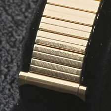 "Long length JB Champion vintage watch band ""horn"" ends adjust from 16mm to 20mm"