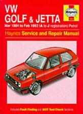 VW Golf & Jetta : Mar 1984 to Feb 1992 (A to J registration) By Ian Coomber