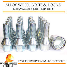 Wheel Bolts & Locks (12+4) 12x1.5 Nuts for BMW 5 Series [E60] 03-10