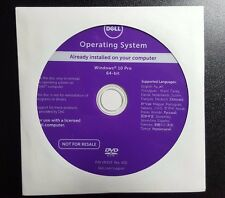 *NEW* Dell Windows 10 Pro SP1 64 Bit OS Restore Recovery DVD Disc w/ HDD