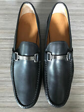 New BALLY SWITZERLAND TECNO BIT LOAFERS BLACK Shoes size 13 $525