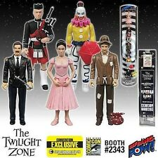 """SDCC 2015 EE EXCLUSIVE Twilight Zone """"In Search of an Exit"""" 5 Pack COLOR Figures"""