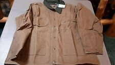 FILSON MADE IN USA  TIN JACKET OILED  item 10007 .TIN CLOTH SIZE large  -063