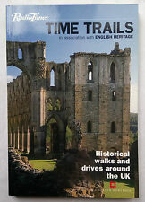 RADIO TIMES TIME TRAILS.HISTORICAL WALKS AND DRIVES UK.1ST SB 2000,MAPS,COLOUR