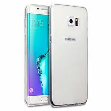 For Samsung Galaxy S5 Silicon Jelly TPU Back Case Cover Crystal Clear Soft thin