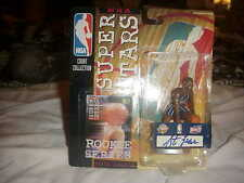 1999/2000 KENNER STARTING LINEUP**STEVE FRANCIS*AUTOGRAPHED**VERY RARE ITEM*READ