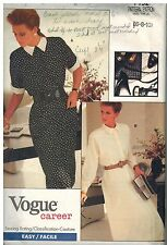 7152 Vintage Vogue Sewing Pattern Misses Very Loose Fitting Blouson Bodice Dress