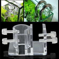 Acrylic Aquarium Hose Fixing Clip Water Pipe Fixing Tube Holder Clamp Fish Tank