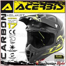 ACERBIS IMPACT CARBON 3.0 CASCO MOTO CARBONIO MOTOCROSS ENDURO OFFROAD TAGLIA L