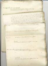 Monarchie Restauration : docs ordre royal de Saint Louis 1693 à 1820 RARE