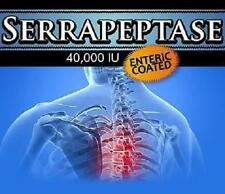 3 Serrapeptase Pills Pain Relief Bone Arthritis  Anti Inflammatory Joints Health