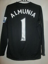 Manuel Almunia 2008-2009 Arsenal Signed Goalkeeper Football Shirt COA /13539
