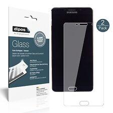 2x Samsung Galaxy A9 Pro (SM-A9100) Protector de Pantalla Vidrio Flexible