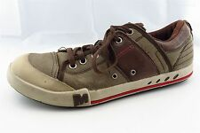 Merrell Men Shoes Size 9 Brown Leather Fashion Sneakers