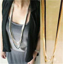 Simple Fashion Women Accessories Ably Design Thin and Long Chain Necklaces