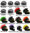 Motorcycle Dirtbike Ski Helmet Mohawk - Racing Helmet Spikes Red Blue Black +