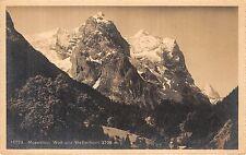 BR36695 Rosenlaui Well und Wetterhorn   Switzerland