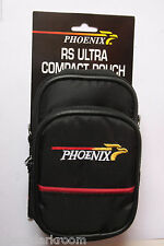 Phoenix RS Ultra Compact Pouch Small Camera Shoulder Bag - Black Zippered NEW G3