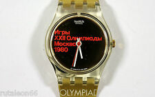 SWATCH  LADY original Swiss made LZ103 MOSCÚ 1980 quartz watch N.O.S.