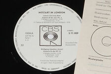 BACH, MOZART -Mozart In London - Sinfonie...- LP CBS 1966 Promo Archiv-Copy mint
