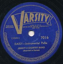 78 16BB - ETHNIC/POLKA - VARSITY 7016 - JENNY'S COUNTRY BAND