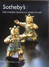 SOTHEBY'S Fine Chinese Ceramics & Works of art New York, 9-18-2007 Sale NO8342