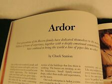 THE ARDOR STORY ..ROVERA FAMILY SAM LEARNED'S PIPES FORMER PIPES P &T FALL 2000!