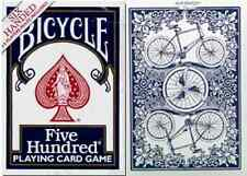 Bicycle Six Handed Five Hundred Playing Cards – Printed in Ohio – SEALED-