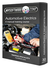 Automotive Mechanics Electrical System Component Repair Training Course PC CD