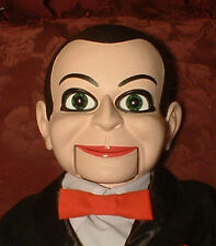 "HAUNTED Ventriloquist Doll ""EYES FOLLOW YOU"" Puppet Dead Silence Billy Dummy"