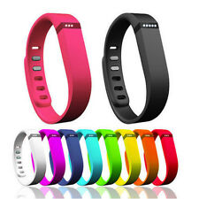 Fashion Men Women Small Replacement Wrist Band w/Clasp F/ Fitbit Flex Bracelet