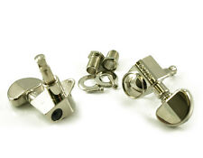 GROVER 102 N ROTOMATIC TUNERS 3L/3R NICKEL TUNING MACHINE PEGS 3+3 10 mm Loch