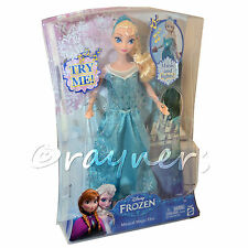 Disney Princess Frozen Musical | Music Magic Princess Elsa Muñeca | Mattel Y9967