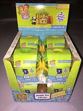 2016 Jungle In My Pocket Box Of 8 Mystery Blind Carriers **NEW**