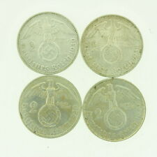 1939 (x4) D F S German Germany 2 Marks 4 Coin Lot