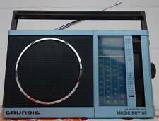 1983er GRUNDIG Radio  MUSIC BOY 60 in BLAU