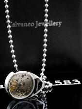 Calvaneo Luxus Designerkette mit edlem Automatikuhrwerk
