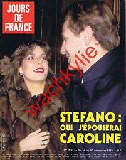 Jours de France n°1512 du 24/12/1983 Stéphanie de Monaco Casiraghi